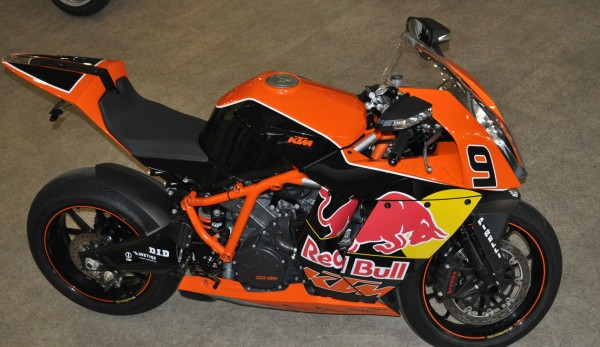 2010 KTM 1190 RC8 R Red Bull Limited Edition #8
