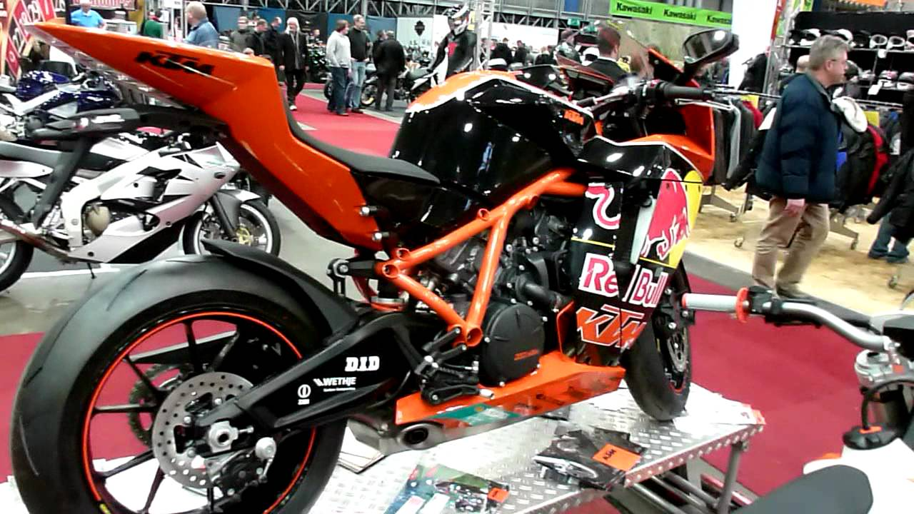 2010 KTM 1190 RC8 R Red Bull Limited Edition #10