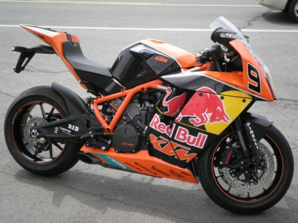 2010 KTM 1190 RC8 R Red Bull Limited Edition #5