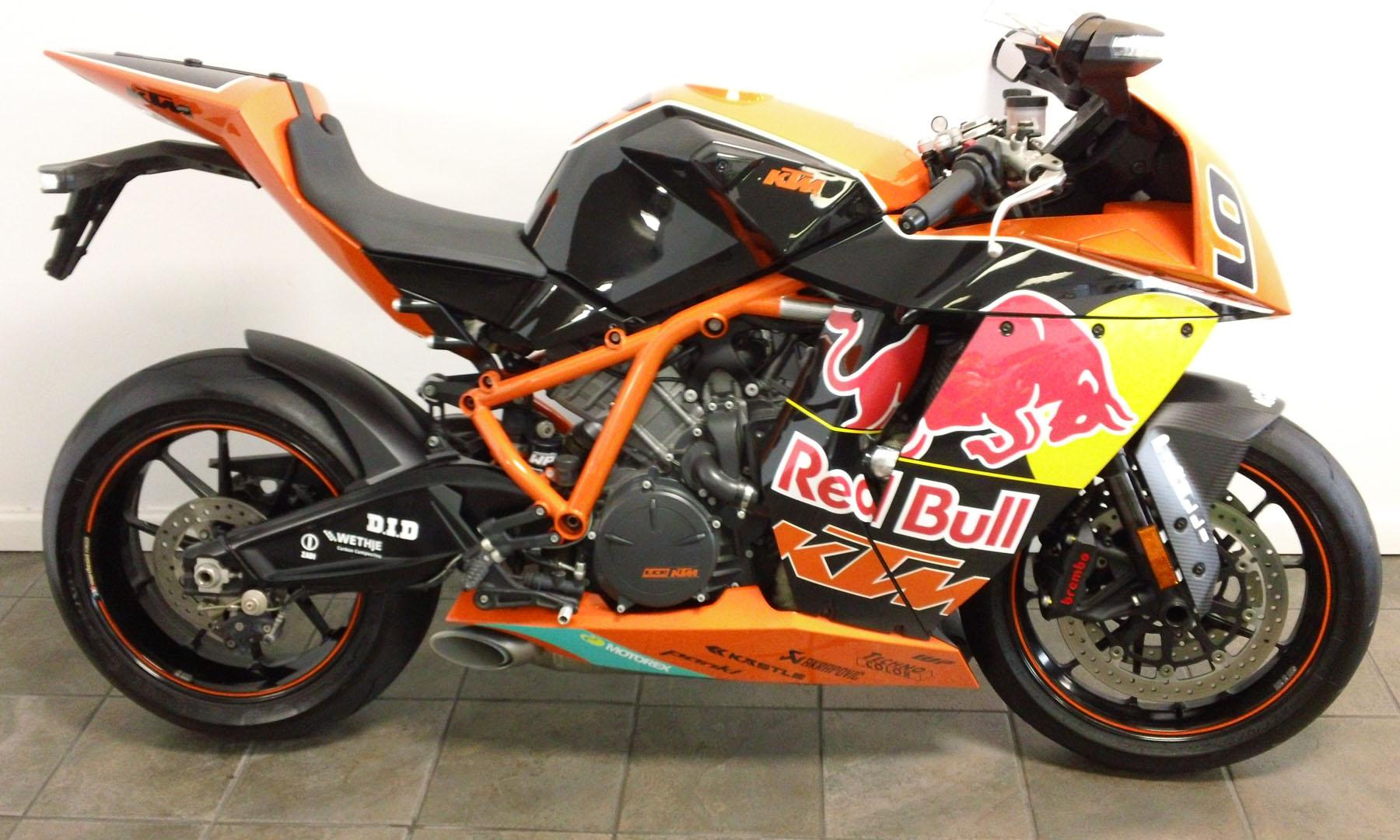 2010 KTM 1190 RC8 R Red Bull Limited Edition #4