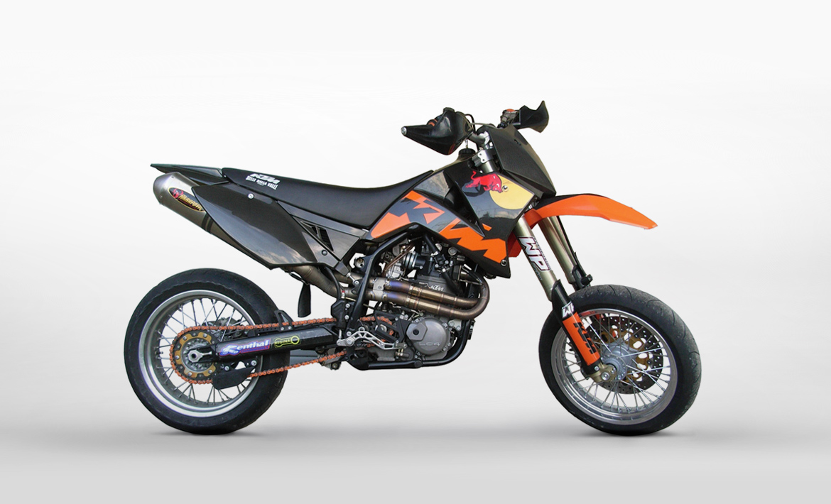 KTM 660 Supermoto Factory Replica #1