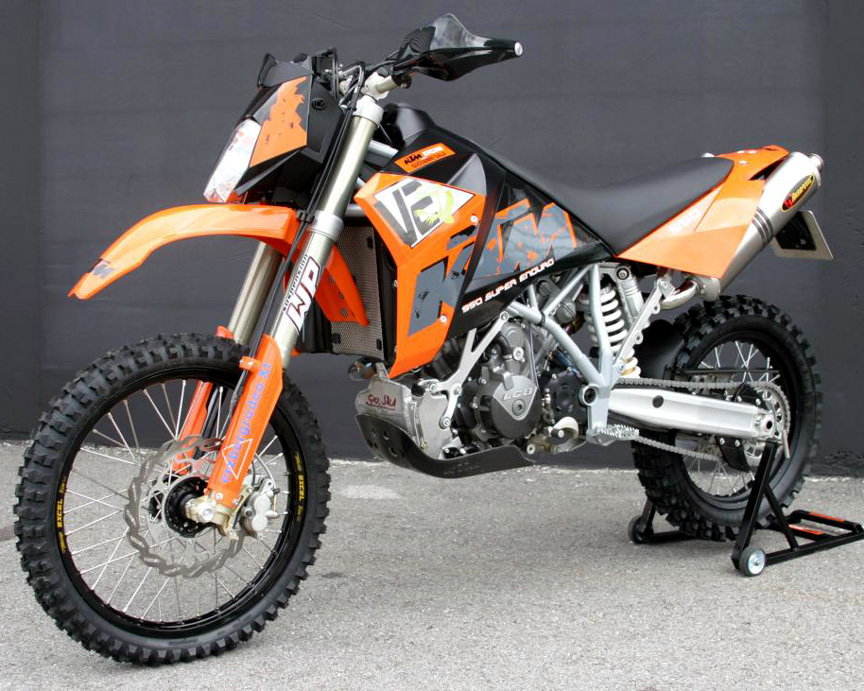 2007 KTM 950 Super Enduro R #8