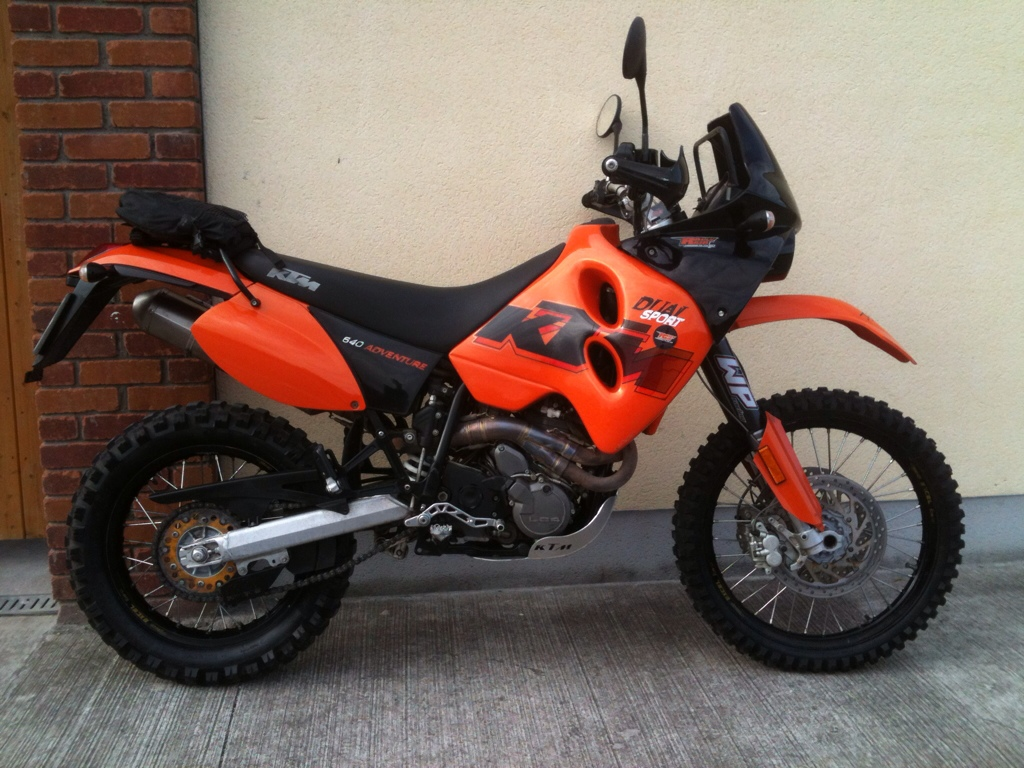 2001 KTM LC4 620 Super Competition #8