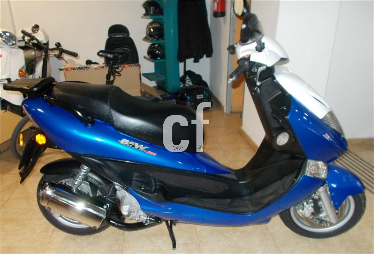 2007 Kymco Bet and Win 125 #8
