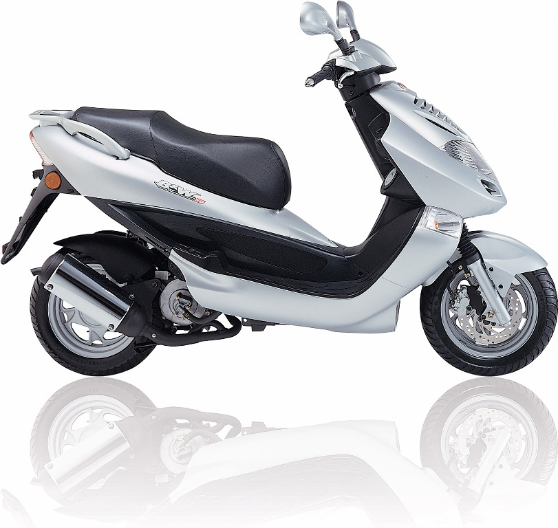 2007 Kymco Bet and Win 125 #1