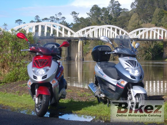 2007 Kymco Bet and Win 250 #4
