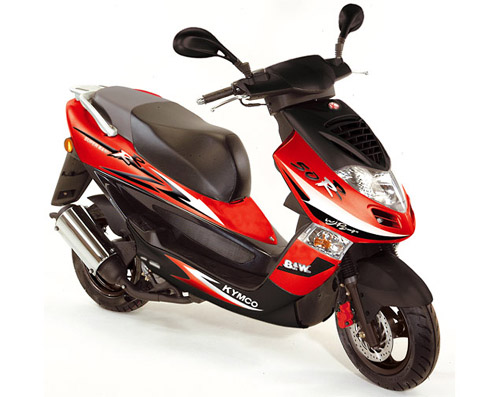 2007 Kymco Bet and Win 50 #4