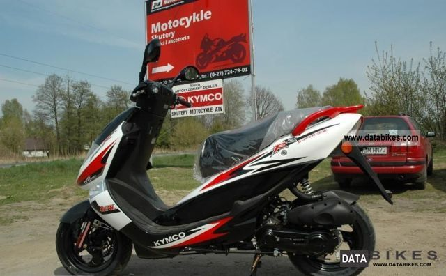 2007 Kymco Bet and Win 50 #8
