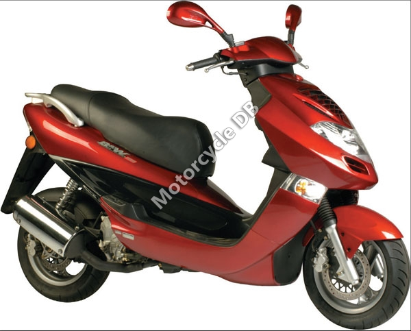 2007 Kymco Bet and Win 50 #2