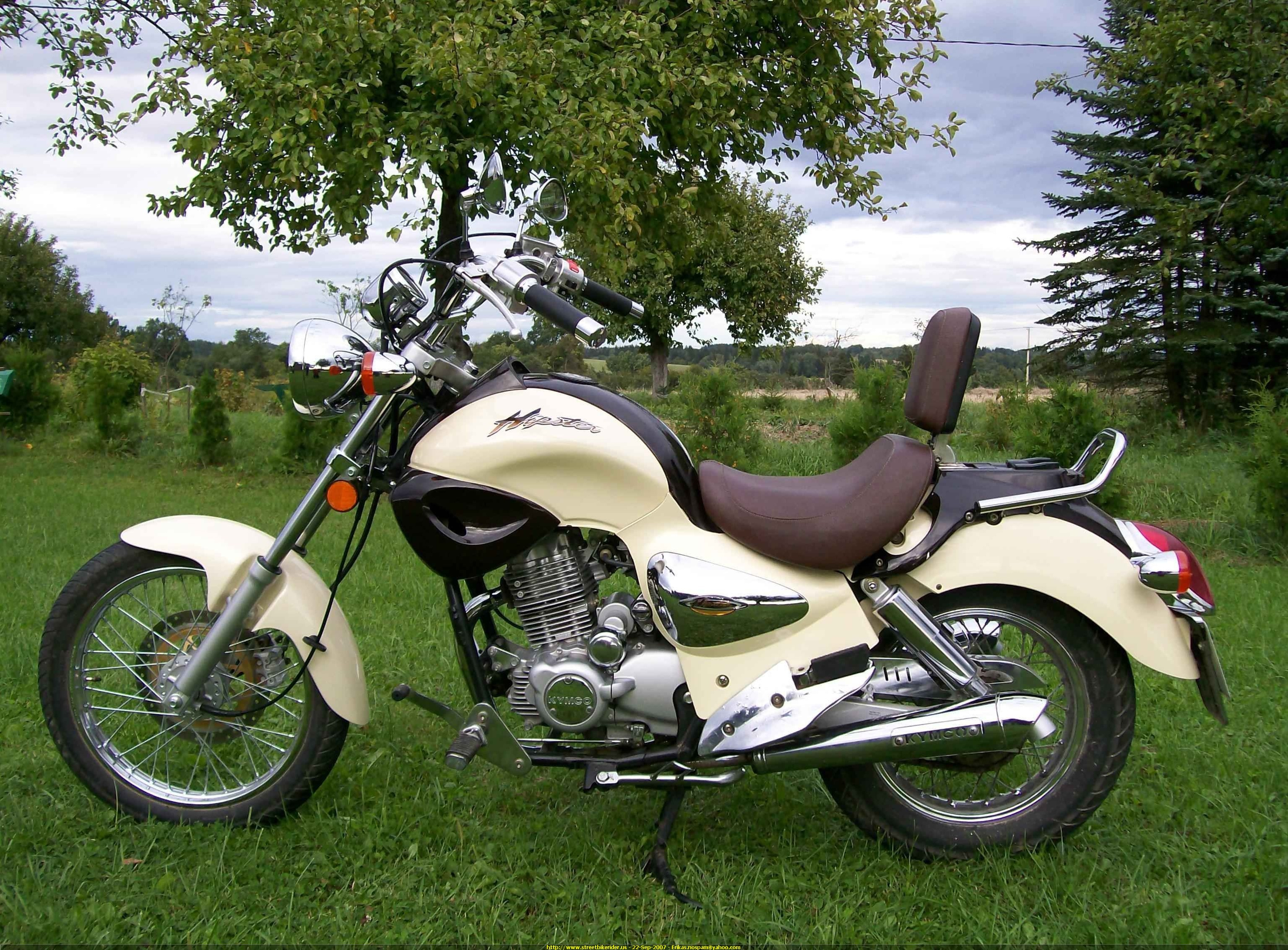 2003 Kymco Hipster 125 #4