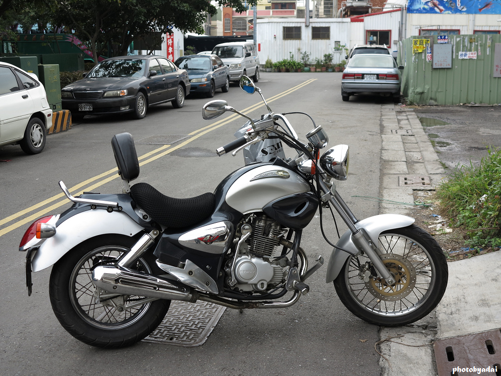 2004 Kymco Hipster 150 #1