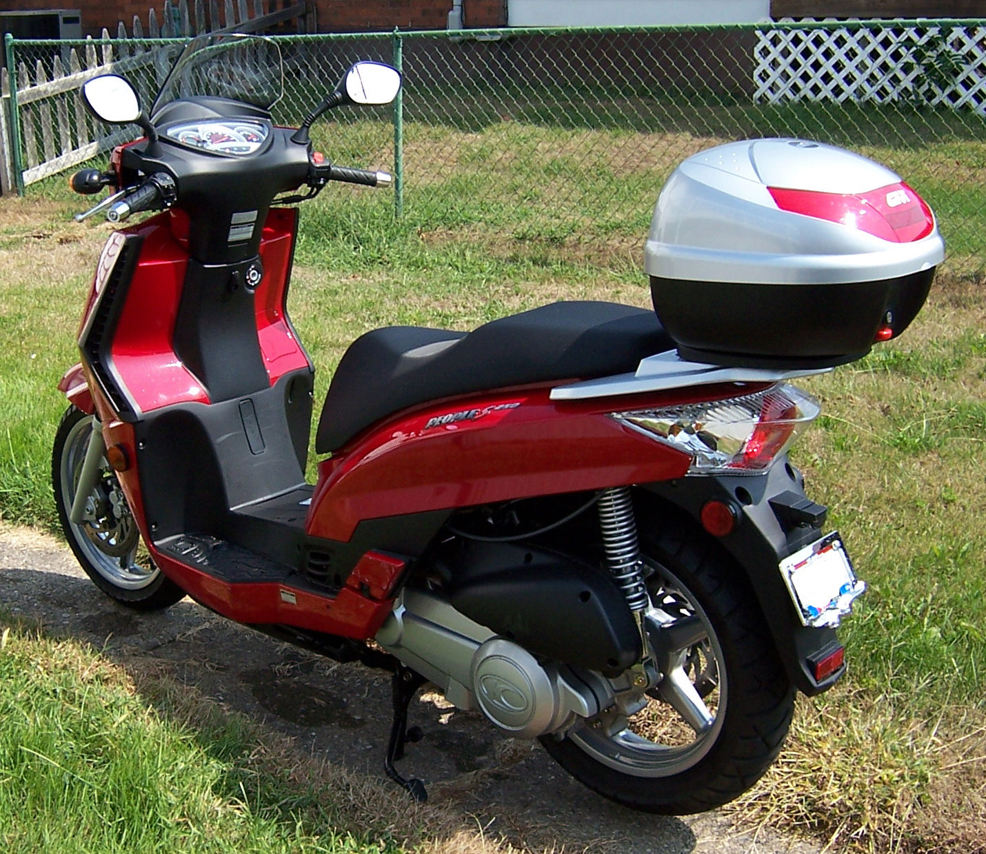 2010 Kymco People S 250 #7