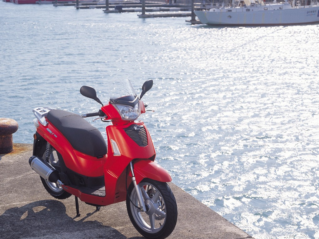 2009 Kymco People S 4T #2