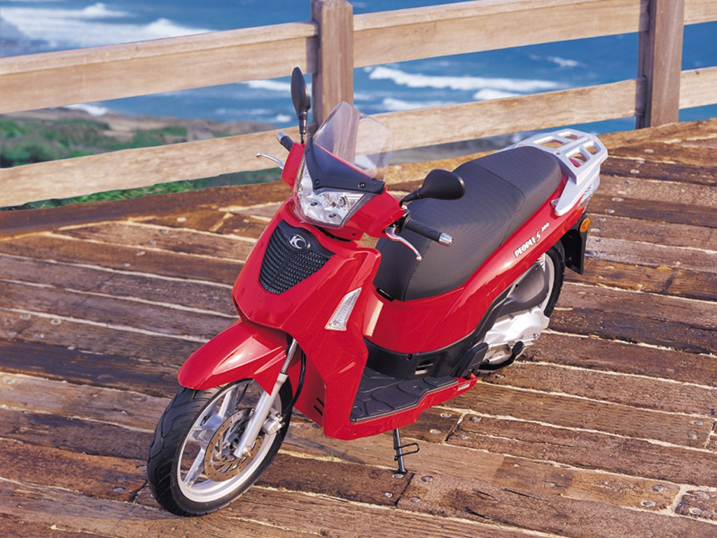2009 Kymco People S 4T #4