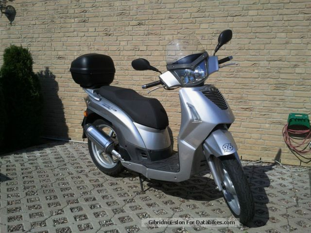 2009 Kymco People S 4T #1