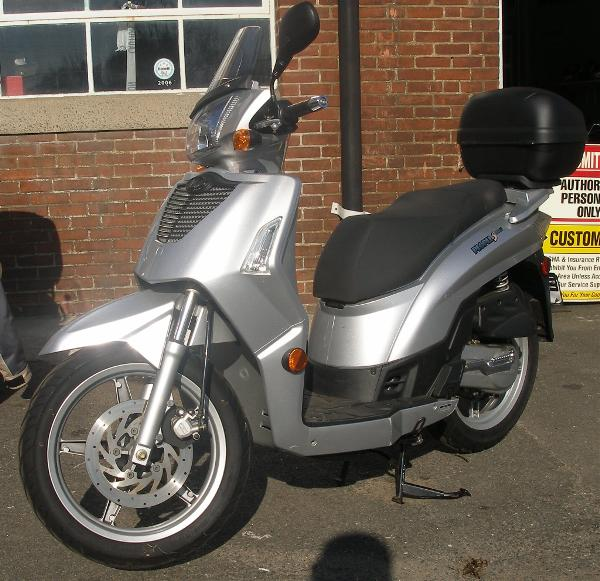 2006 Kymco People S 50 4T #10