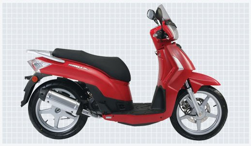 2006 Kymco People S 50 4T #3