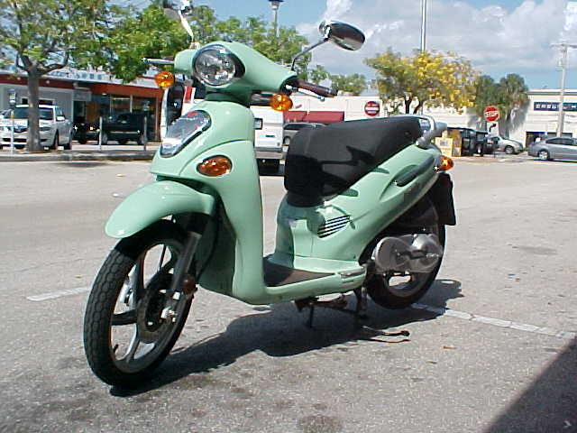 2006 Kymco People S 50 4T #5