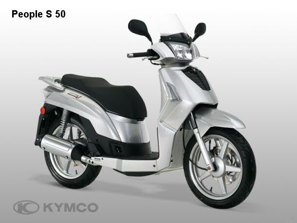 2006 Kymco People S 50 4T #4