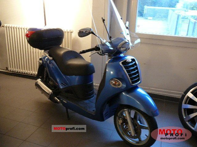 2006 Kymco People S 50 4T #8