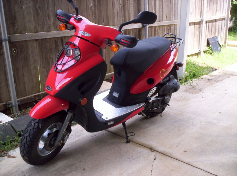 Kymco Top Boy 50 On Road #4