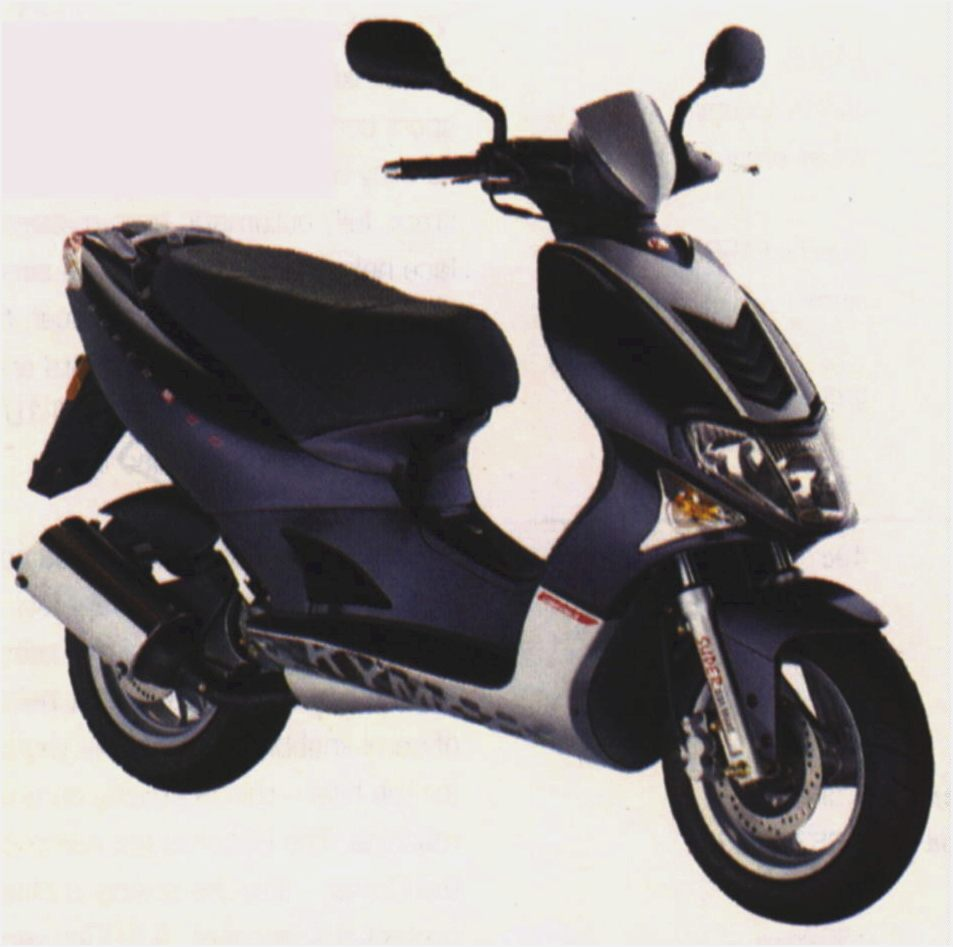 Kymco Top Boy 50 On Road #5