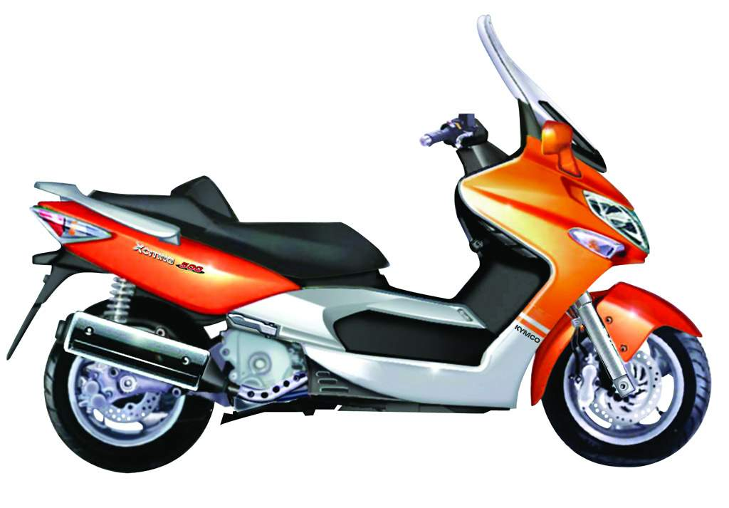 Kymco Xciting 500 #1