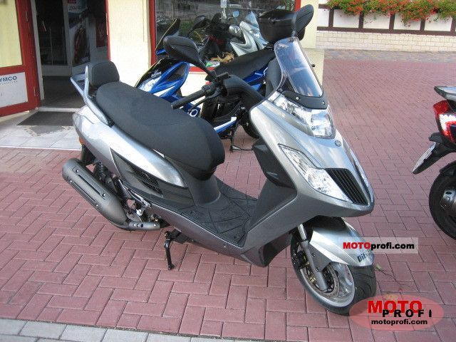 2011 Kymco Yager GT 125 #1