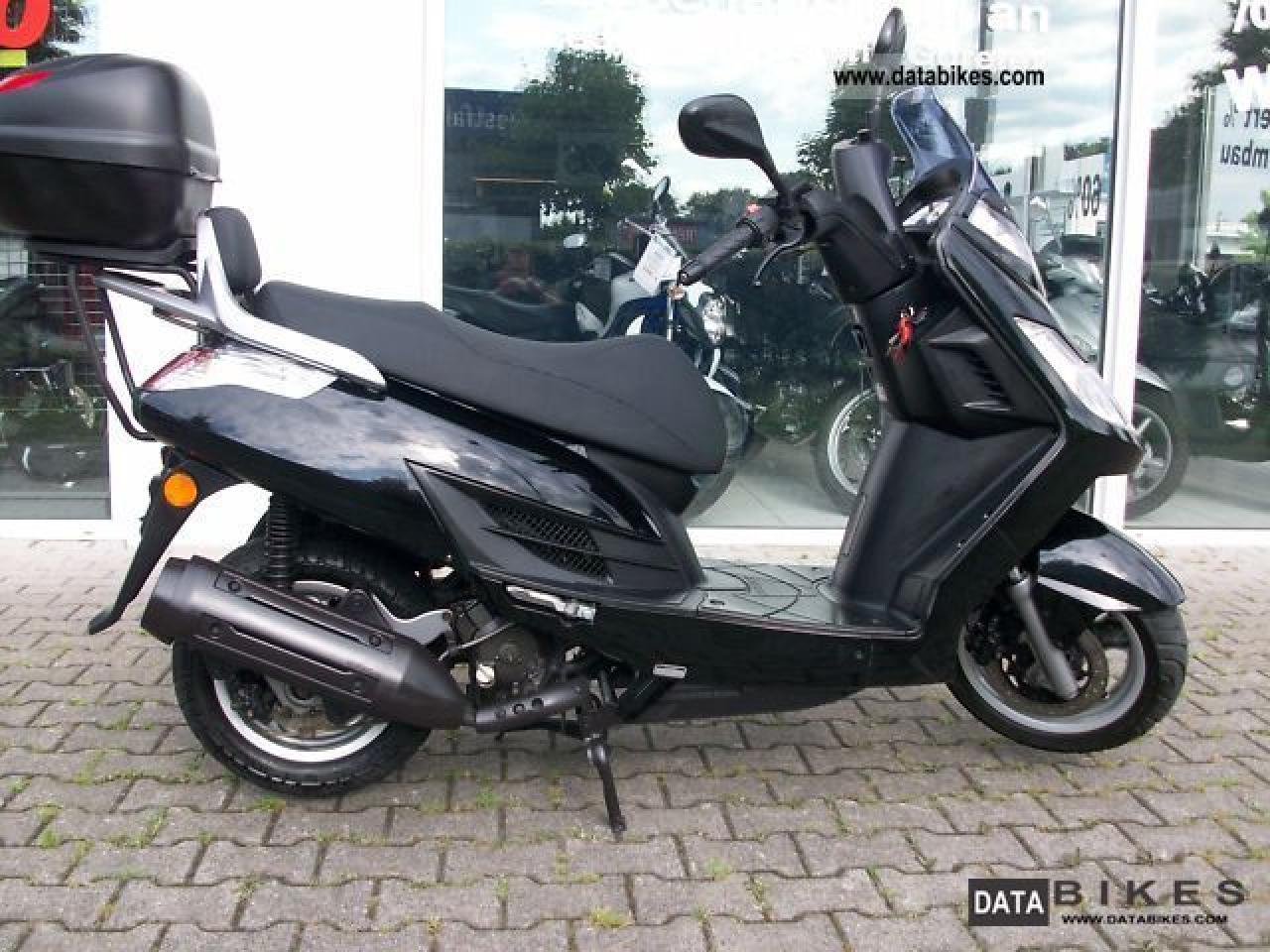 2011 Kymco Yager GT 125 #6
