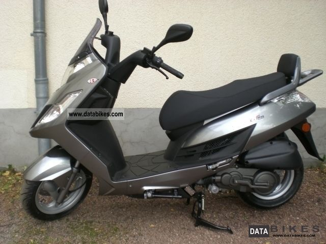 2011 Kymco Yager GT 125 #10