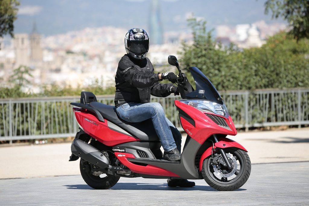Kymco Yager GT 125 #9