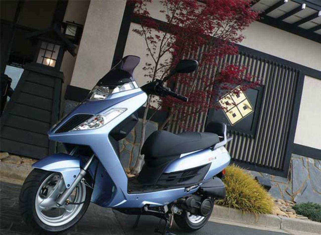 2011 Kymco Yager GT 200i #5