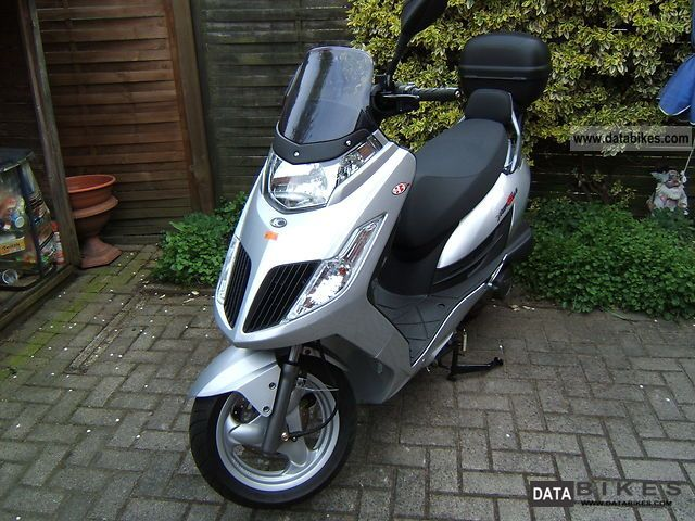 2011 Kymco Yager GT 200i #9