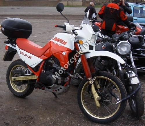 1988 Laverda OR 600 Atlas #6
