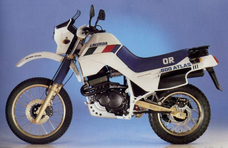 1988 Laverda OR 600 Atlas #5