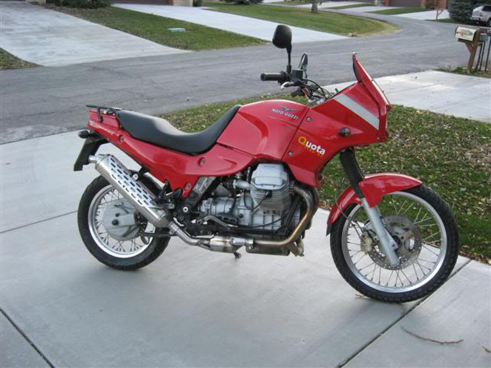 1991 Moto Guzzi 1000 Quota Injection #5