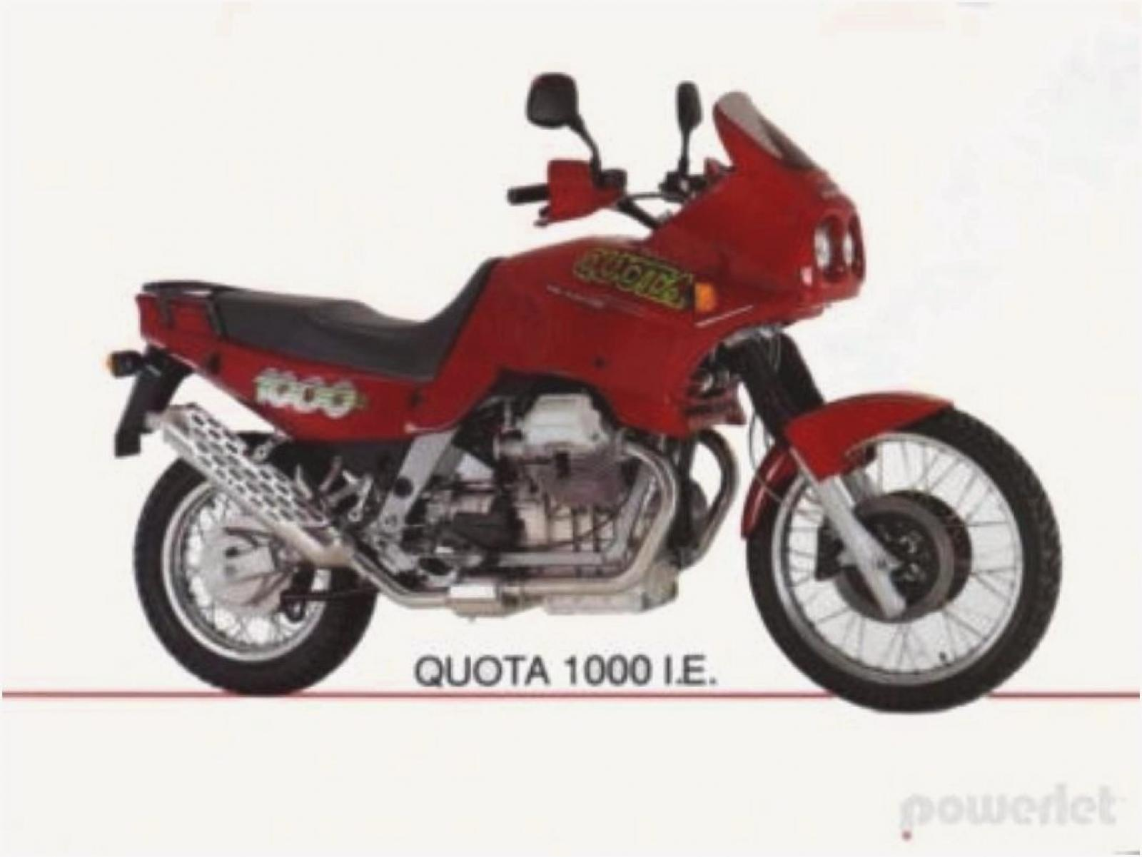 1991 Moto Guzzi 1000 Quota Injection #4