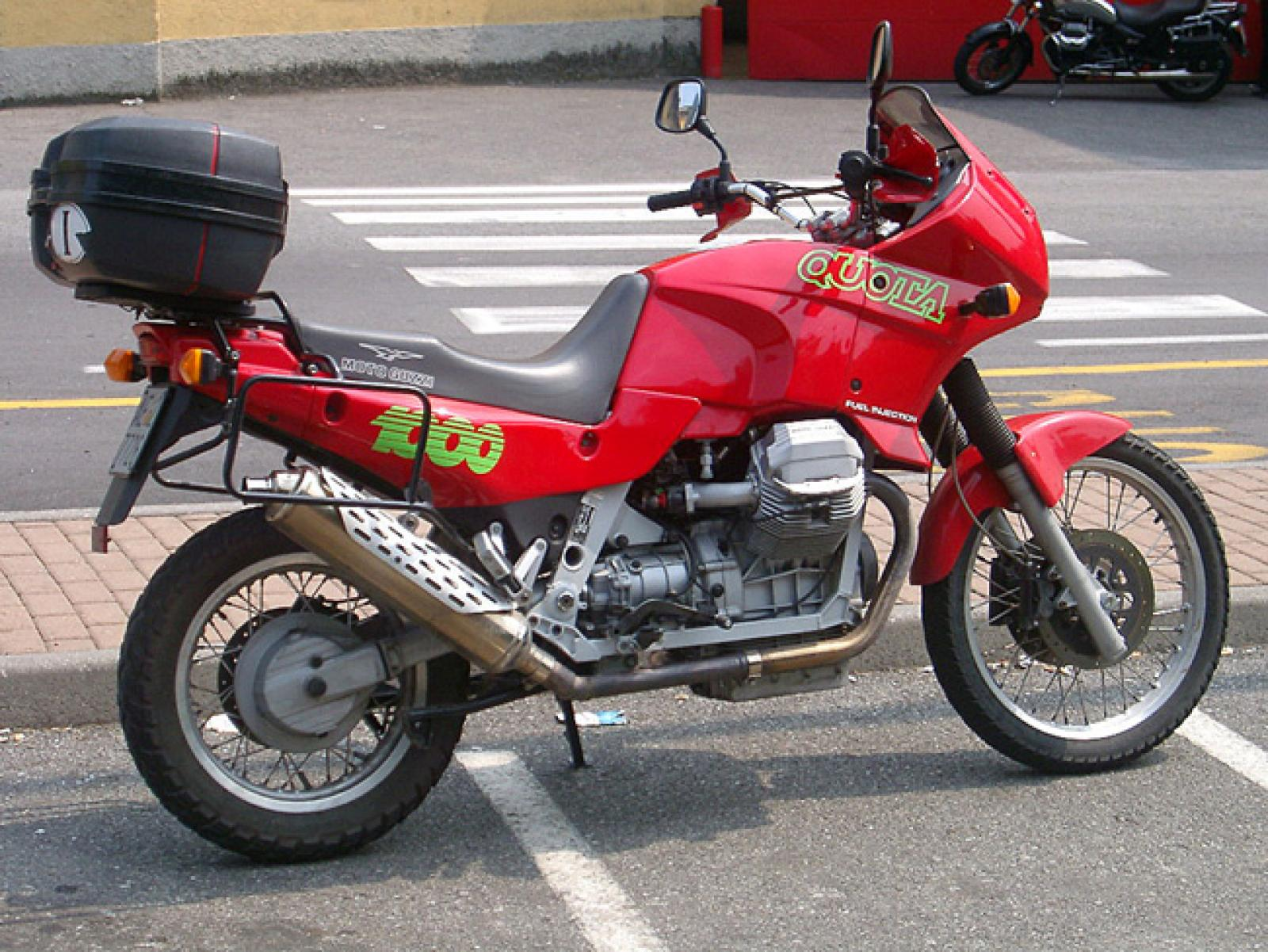 1991 Moto Guzzi 1000 Quota Injection #7