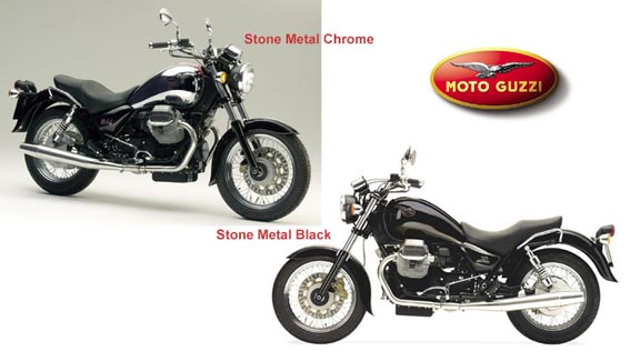 Moto Guzzi California Stone Metal #4