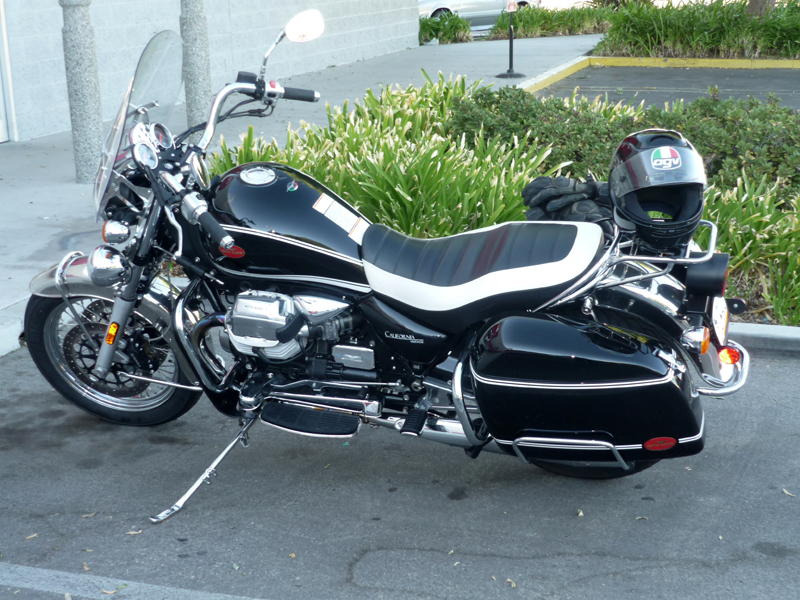 2007 Moto Guzzi California Touring #9