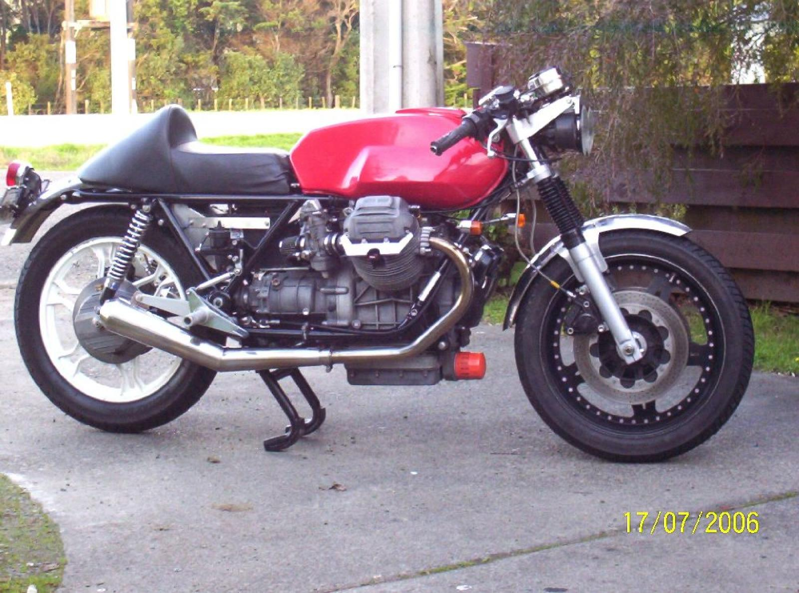 1987 Moto Guzzi Mille GT (reduced effect) #6
