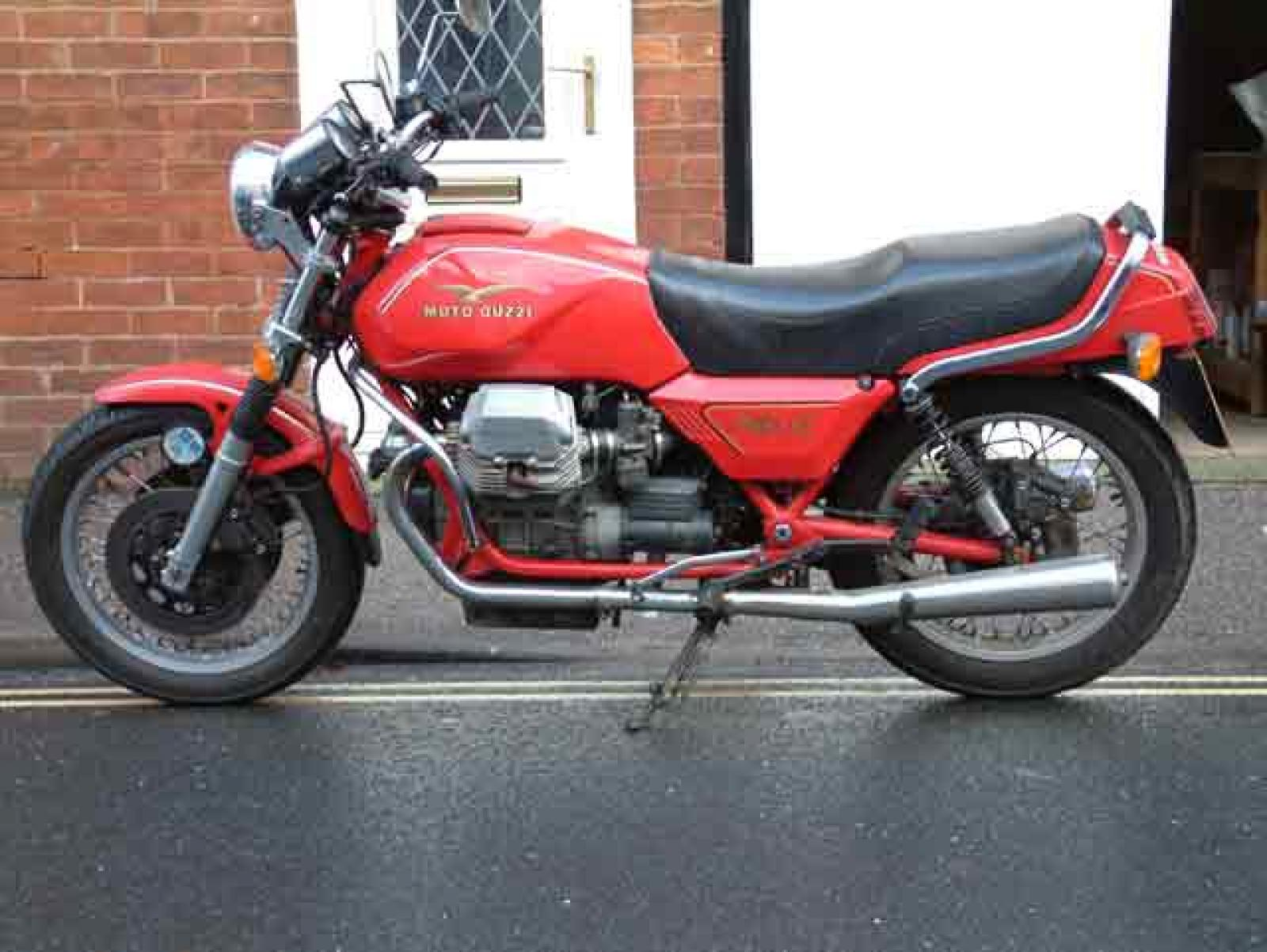 1987 Moto Guzzi Mille GT (reduced effect) #4