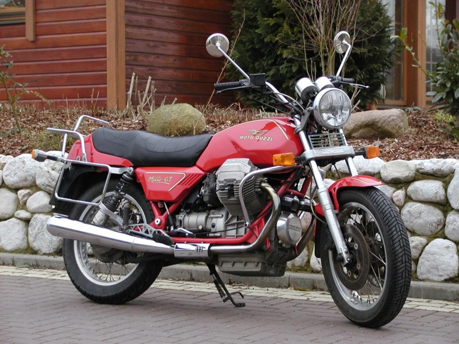 1987 Moto Guzzi Mille GT (reduced effect) #1