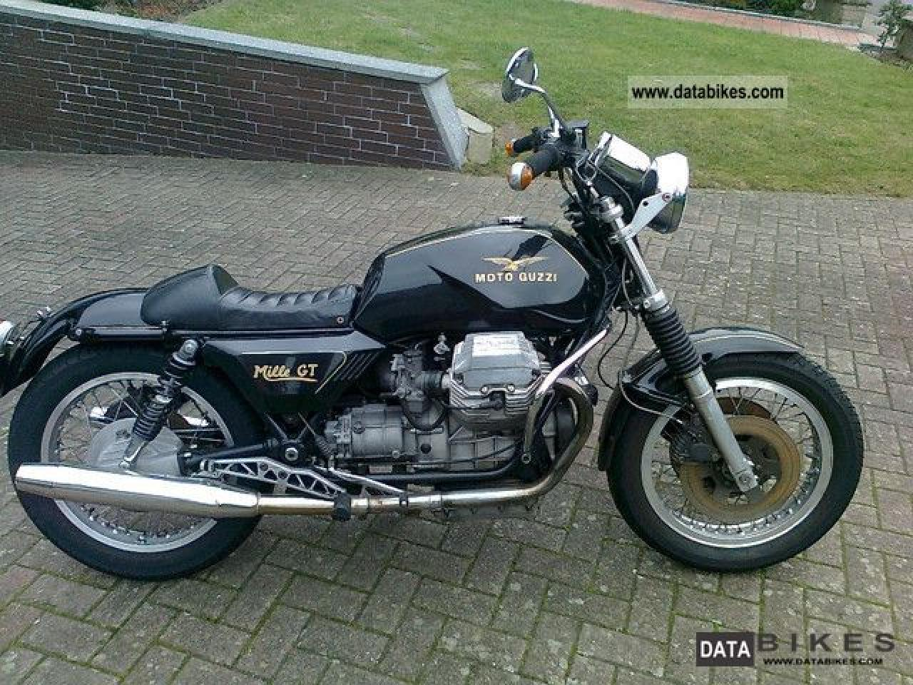 1987 Moto Guzzi Mille GT (reduced effect) #7