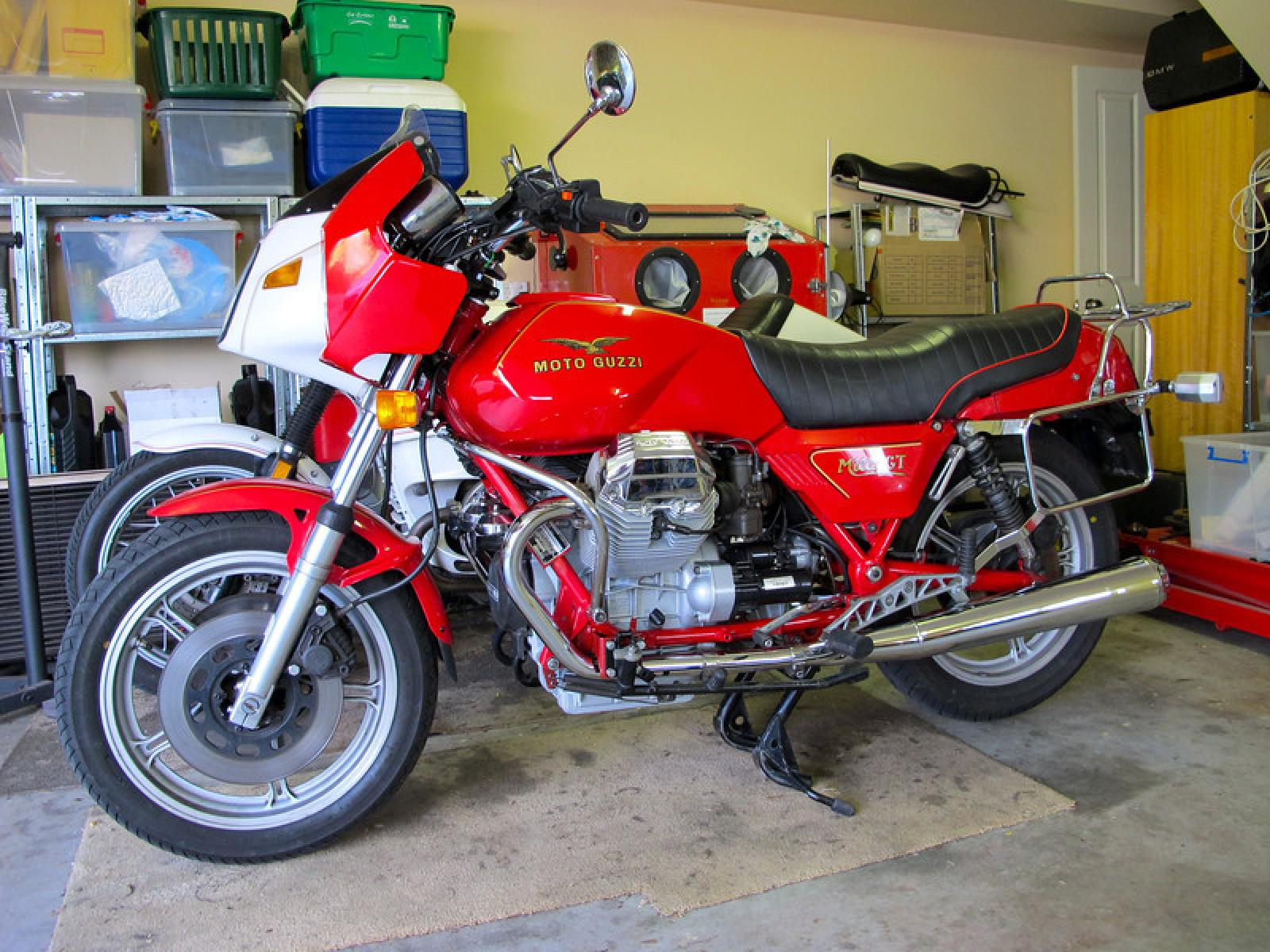 1987 Moto Guzzi Mille GT (reduced effect) #2