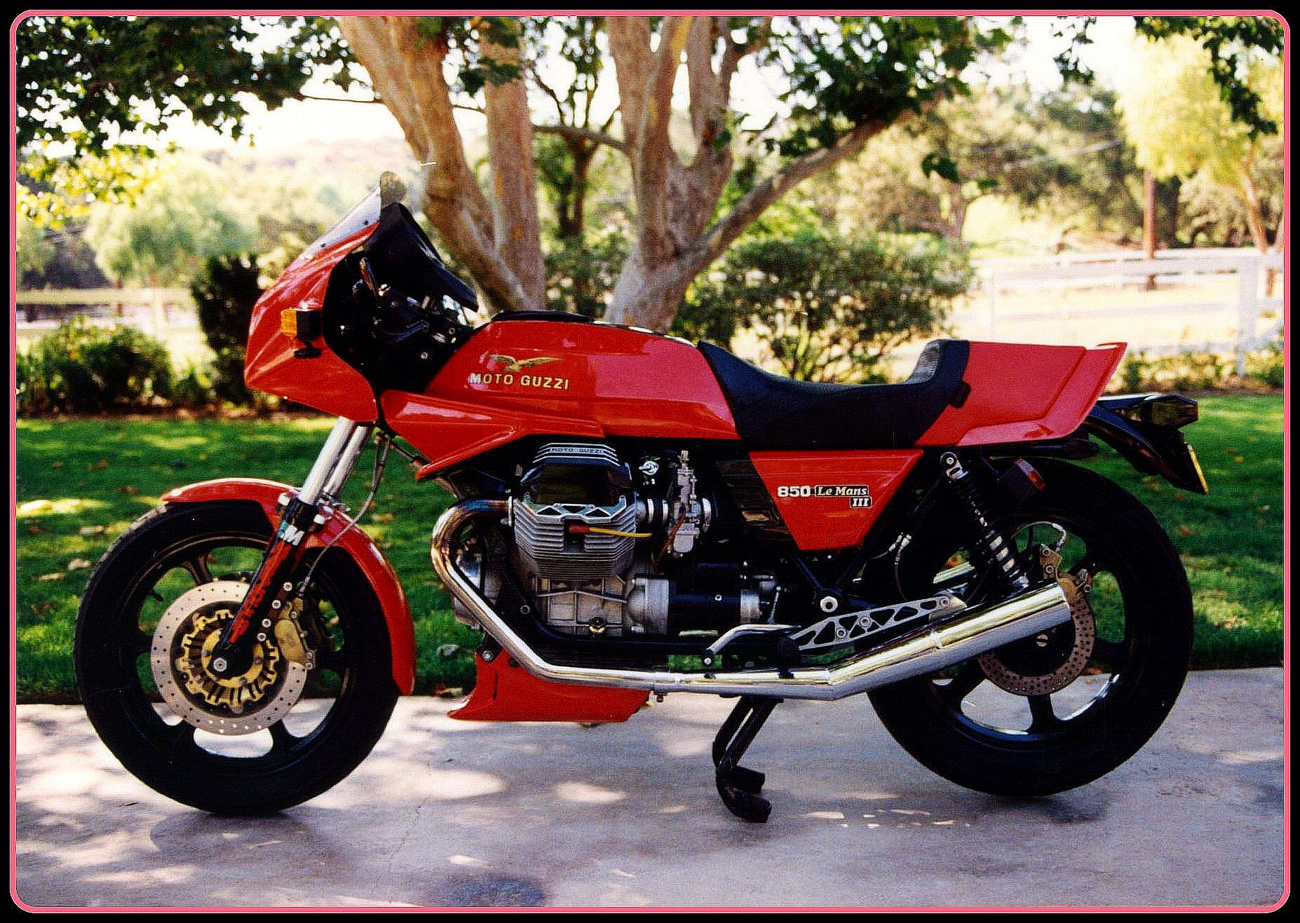 1983 Moto Guzzi V1000 Le Mans Iii Photos Informations Articles Bikes Bestcarmag Com