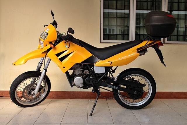 2007 MZ Mantizz 125 #10