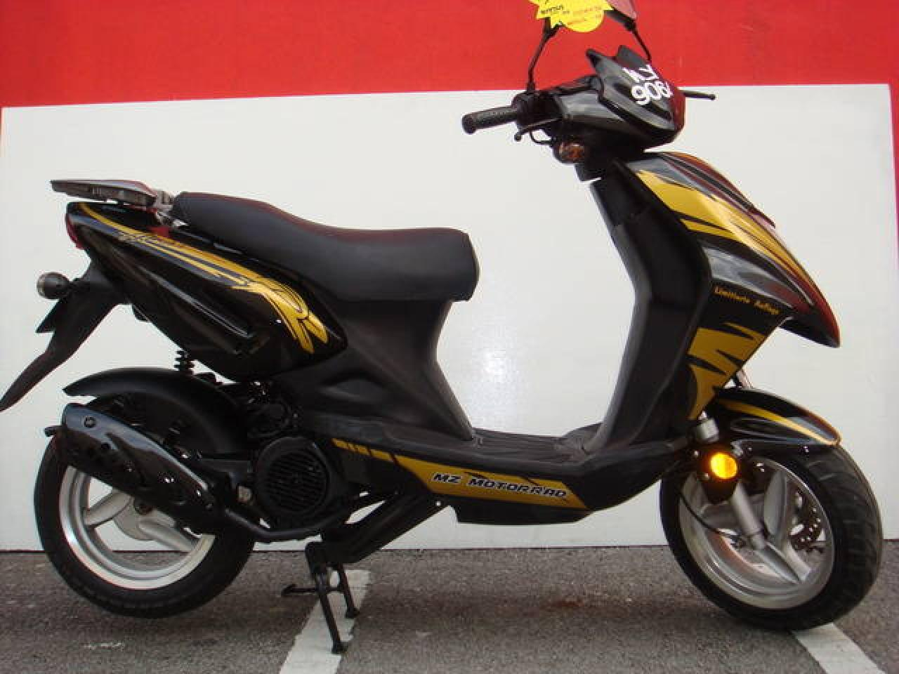 2007 MZ Mantizz 125 #4