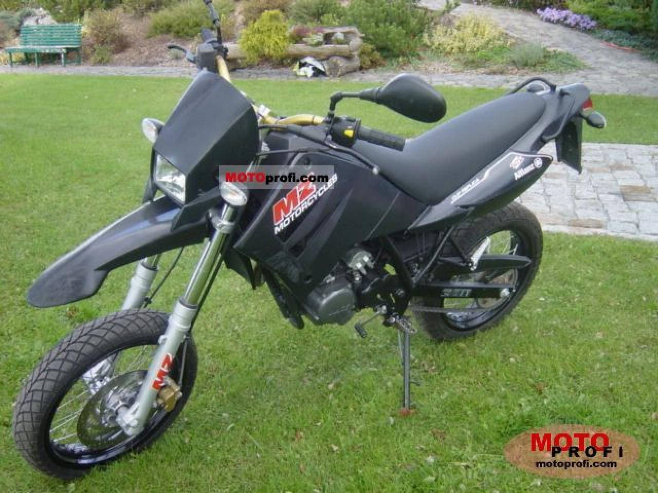 2007 MZ Mantizz 125 #7