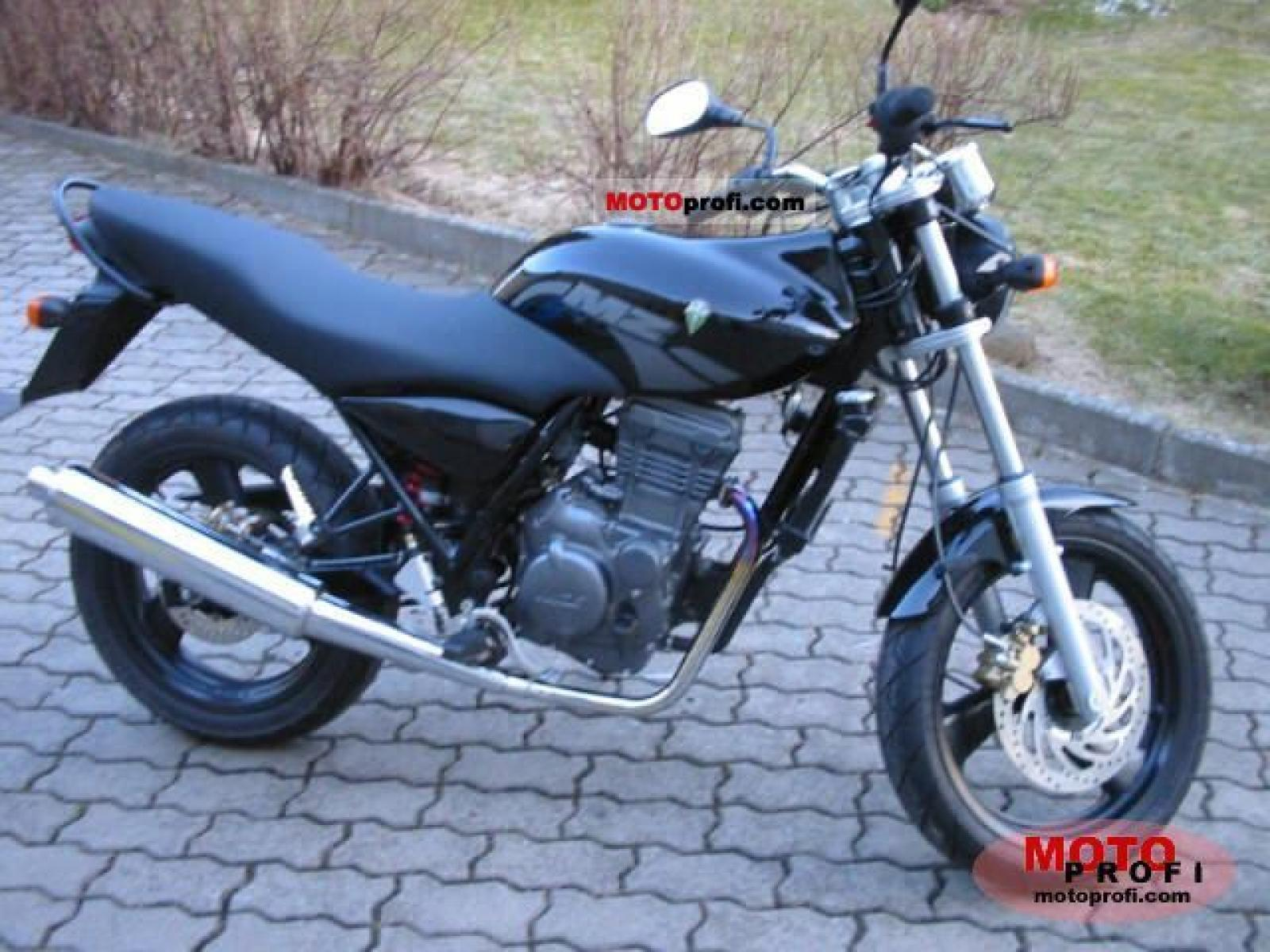2007 MZ Mantizz 125 #9